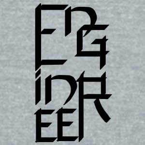 Engineer Character - Unisex Tri-Blend T-Shirt by American Apparel