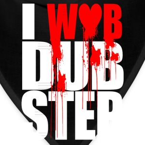 I WUB DUBSTEP I LOVE DUPSTEP Long Sleeve Shirts - Bandana