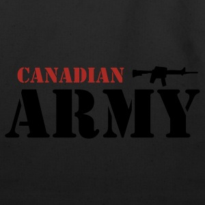 White Canadian Army Men - Eco-Friendly Cotton Tote