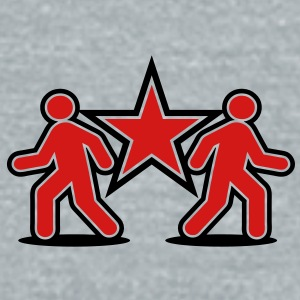 Shuffle Dancers Duo double dancing team STARS Accessories - Unisex Tri-Blend T-Shirt by American Apparel