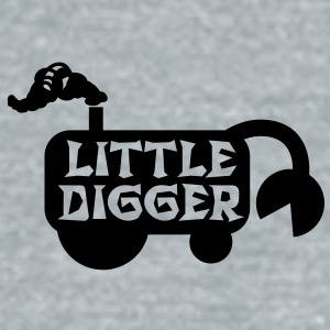 cute little digger transport with a shovel Accessories - Unisex Tri-Blend T-Shirt by American Apparel