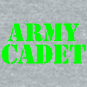 army cadet in stencil Accessories - Unisex Tri-Blend T-Shirt by American Apparel