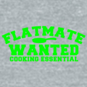 FLATMATE wanted cooking essential Accessories - Unisex Tri-Blend T-Shirt by American Apparel