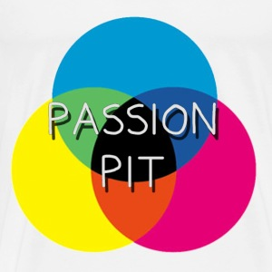 Passion Pit CMYK Hoodies - Men's Premium T-Shirt