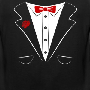 tuxedo Long Sleeve Shirts - Men's Premium Tank