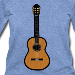 Acoustic Guitar - Women's Wideneck Sweatshirt