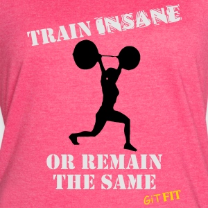 Women's Train Insane Tanks - Women's Vintage Sport T-Shirt