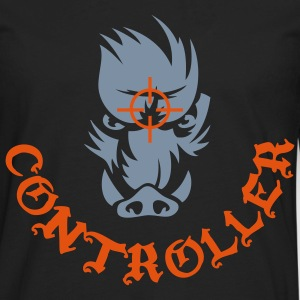 wildboar_controller Hoodies - Men's Premium Long Sleeve T-Shirt