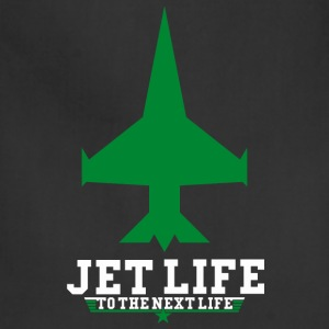 JET LIFE TO NEXT LIFE T-Shirts - Adjustable Apron