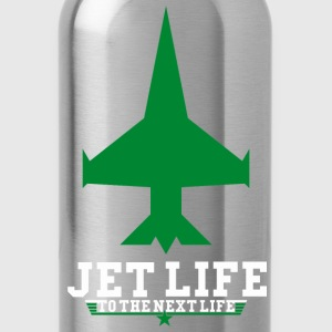 JET LIFE TO NEXT LIFE Hoodies - Water Bottle