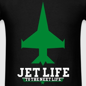 JET LIFE TO NEXT LIFE Hoodies - Men's T-Shirt