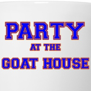 party_at_the_goat_house_blue T-Shirts - Coffee/Tea Mug