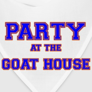 party_at_the_goat_house_blue T-Shirts - Bandana