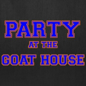 party_at_the_goat_house_blue T-Shirts - Tote Bag