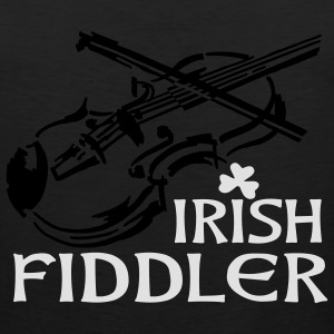 Irish Fiddle T-Shirts - Men's Premium Tank