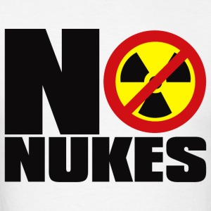 NO_NUKES - Men's T-Shirt