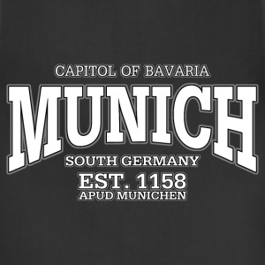 Munich Bavaria Germany (white) - Adjustable Apron