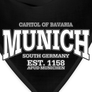 Munich Bavaria Germany (white) - Bandana
