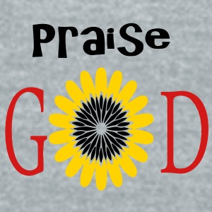 Praise God - Unisex Tri-Blend T-Shirt by American Apparel