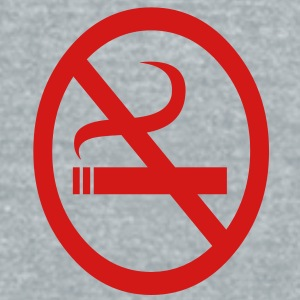 no smoking - Unisex Tri-Blend T-Shirt by American Apparel