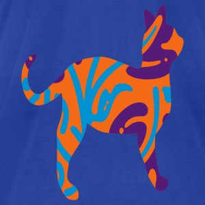 wild cat - Men's T-Shirt by American Apparel