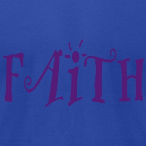 Faith.. - Men's T-Shirt by American Apparel
