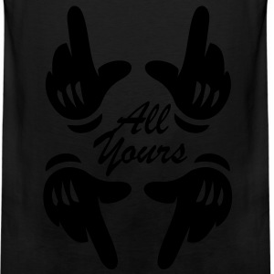 ALL YOURS Women's T-Shirts - Men's Premium Tank