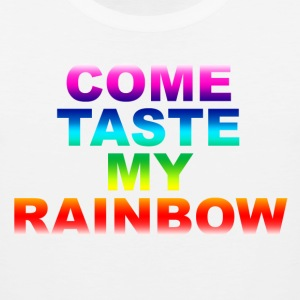 Come Taste My Rainbow - Men's Premium Tank