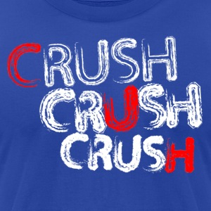 Crush Crush Crush - Men's T-Shirt by American Apparel