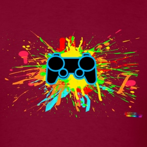 Controller Splatter Hoodies - Men's T-Shirt