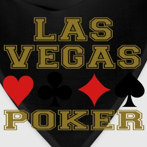 Las Vegas poker cards Hoodies - Bandana