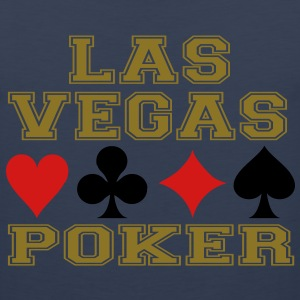 Las Vegas poker cards Hoodies - Men's Premium Tank