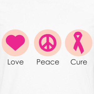 Love Peace Cure T-Shirts - Men's Premium Long Sleeve T-Shirt