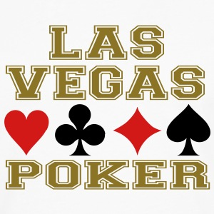 Las Vegas poker cards Hoodies - Men's Premium Long Sleeve T-Shirt