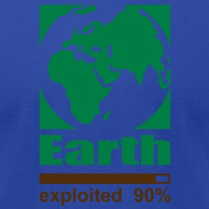 Earth exploited Tanks - Men's T-Shirt by American Apparel