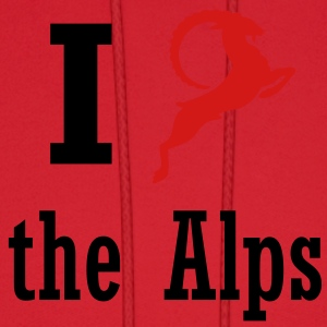 I heart the Alps Women's T-Shirts - Men's Hoodie