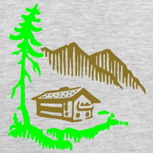 Alps Landscape Women's T-Shirts - Men's Premium Tank