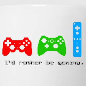 I'd Rather Be Gaming - Coffee/Tea Mug