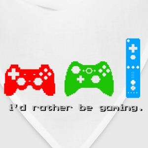 I'd Rather Be Gaming - Bandana