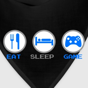 Eat Sleep Game Hoodies - Bandana