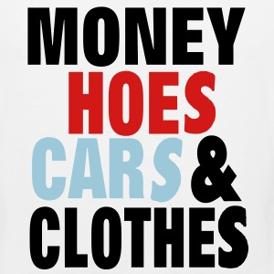 MONEY HOES CAR & CLOTHES - Men's Premium Tank
