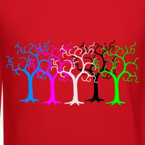 colored forest - digital T-Shirts - Crewneck Sweatshirt