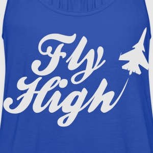 Fly High Hoodies - Women's Flowy Tank Top by Bella