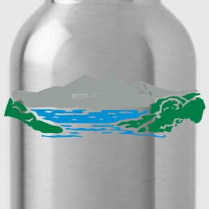 Mountain lake Hoodies - Water Bottle