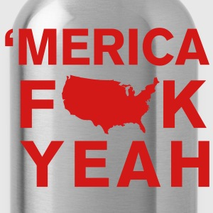 Merica Fk Yeah T-Shirts - Water Bottle