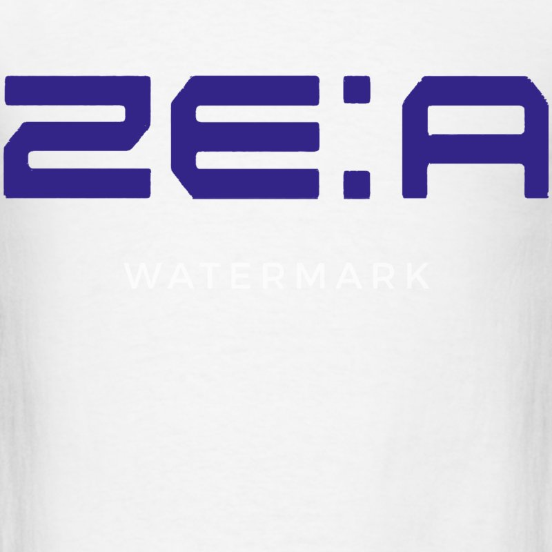 ZE:A Logo Purple T-Shirts - Men's T-Shirt