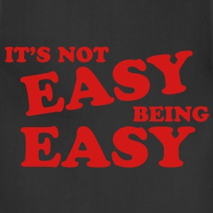 It's Not Easy Being Easy Hoodies - Adjustable Apron