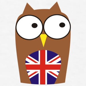 British Owl Gift - Men's T-Shirt