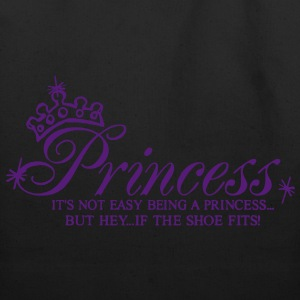 Princess..It's not easy being a Princess Women's T-Shirts - Eco-Friendly Cotton Tote