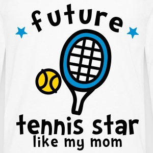 Tennis Star Like Mom Kids' Shirts - Men's Premium Long Sleeve T-Shirt